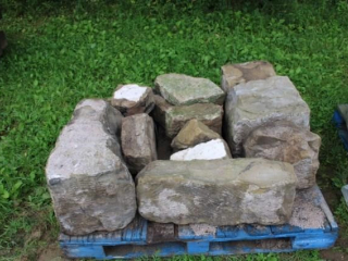 Pallet of Sandstone Blocks