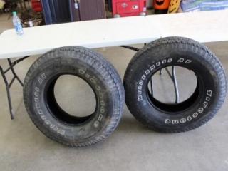 (2) P265/75R16 Tires