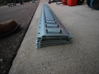 (7) E Track for trailer tie downs