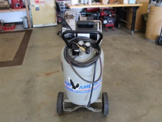 Air America 5 hp. 20 gal. upright air compressor