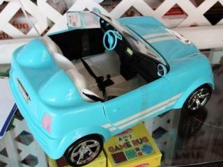 Be My Girl Mini Convertible Plastic Doll Car