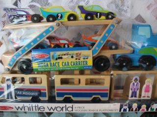 Lot of 2 Melissa & Doug Wood Toys