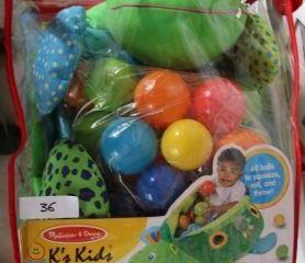 Melissa & Doug K's Kids Turtle Ball Pit