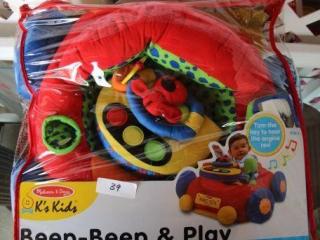Melissa & Doug K's Kids Beep-Beep & Play