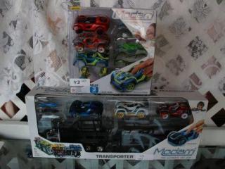 Lot of 2 Modarri Car Sets