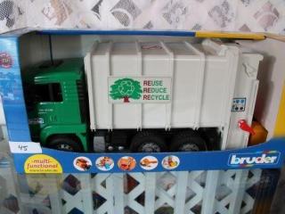 Bruder European Garbage  Truck