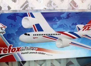 Firefoxairliner Hand Launch Glider