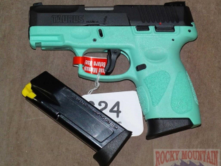 New Taurus Blue G2C 13-Shot 9mm Pistol.