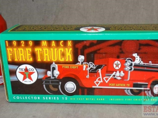 Texaco 1929 Mack fire Truck in Original Box.