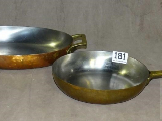 Copper Skillet & Baking Pan.