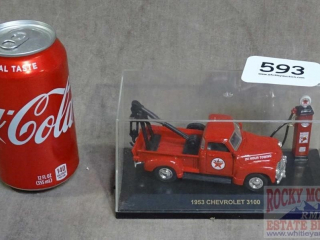 Die Cast Texaco Towing 1953 Chevrolet.
