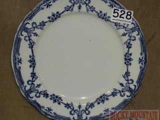 Adderley's English Flow Blue Plate.