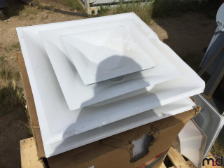 Box of 2' x 2' Ceiling Vents UNRESERVED