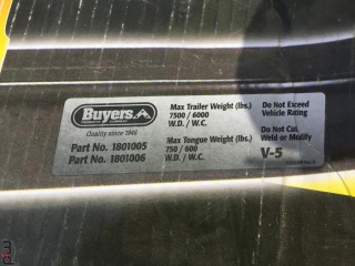 Buyers Products Hitch Receiver UNRESERVED