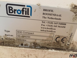Brofil B30 Compact Cab Pressurization and Filtration System UNRESERVED