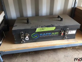 SafeAir SA10 Super Compact Cab Pressurization and Filtration System UNRESERVED