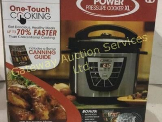 Pressure Cooker. 6 Quart Capacity Dishwasher.....