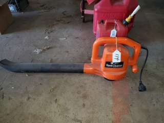 Black & Decker Yard Cleaner