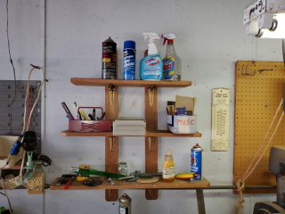 Workbench & contents