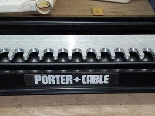 "Porter Cable 12"" dovetail machine"