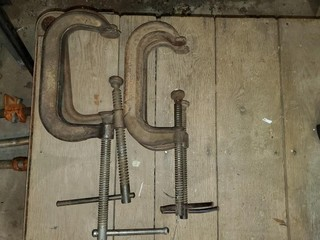 """4 - 6"""" C-Clamps"""