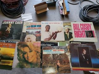 Assorted Vinyl 33's