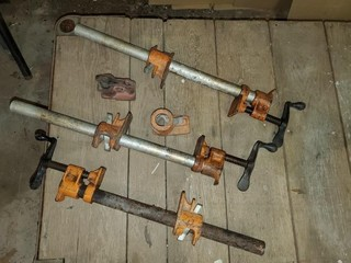 (7) Cabinet Clamps