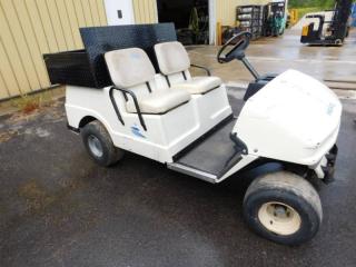 Gas Powered Columbia ParCar Golf Cart