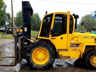 Sellick S120 Rough Terrain 4WD Forklift