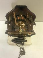 German Made Cuckoo Clock, with Swiss movement, in working condition