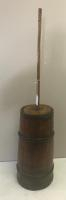 Wooden Vessel Butter Churn, approx 5 foot tall overall