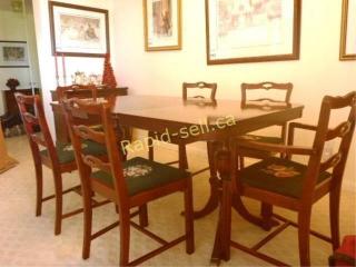 Vintage Mahogany Dining Room Set
