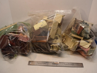 3 -Bags Of Doll House Accessories