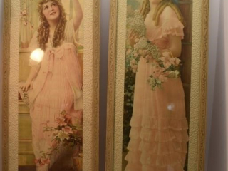 "2 - Signed ""Mary Pickford"" Photos 11"" x 30"""