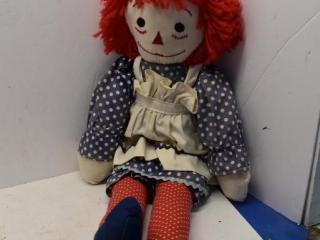 """24"""" Raggedy Ann Doll"""