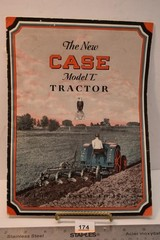 "The New CASE Model ""L"" Tractor Advertising Flyer"