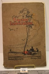 1920's Tractor Lubrication Book from Standard Oil