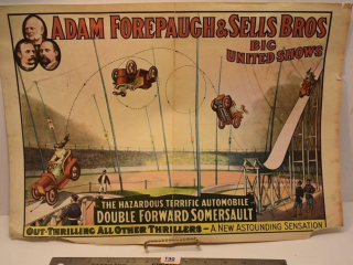 1960 Adam Forepaugh & Sells Bros. Big United