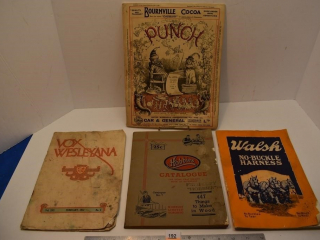 Various Books and Catalogs from the 1920's
