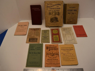Various Books from the 1900's