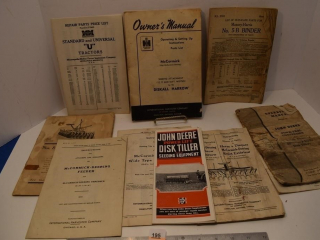 Various Old Manuals