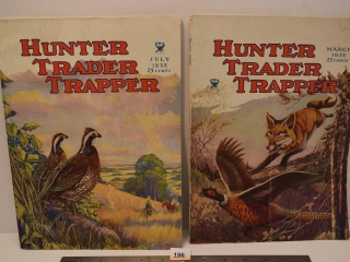 Two Hunter-Trader-Trapper Magazines from 1935