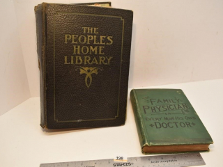The Family Physician Book from 1889 and The