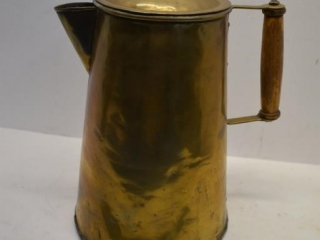 Large Copper Coffee Pot Complete