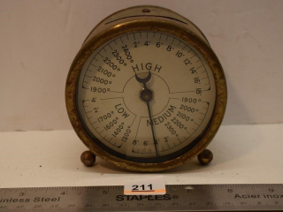 The S.S. White Dental Mfg. Co. Gauge