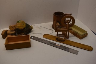 Misc. Wooden items