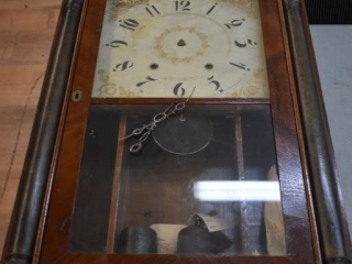 "Very Old Clock (Requires Repair) 18"" x 28"""