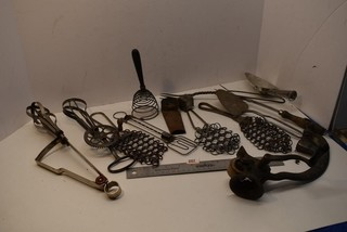 Wisks, Egg Beaters and other kitchen utensils