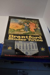 """Brantford Binder Twine"" 1935 Calendar 25""x16"""