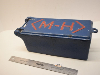Massey Harris Metal Tool Box